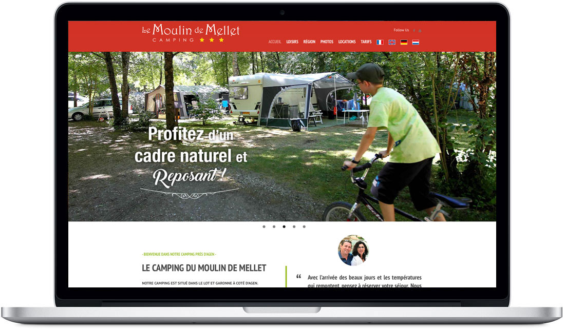 site internet camping moulin mellet