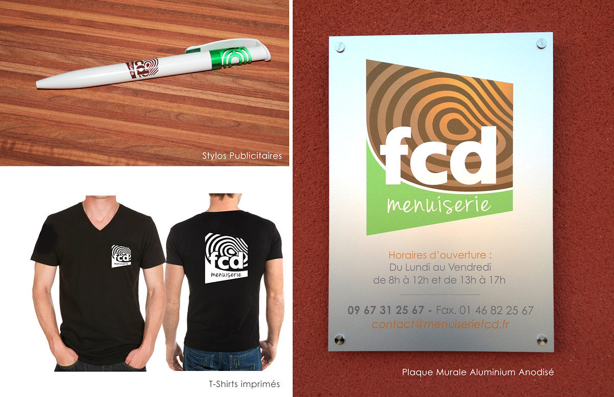 supports communication Fcd menuiserie
